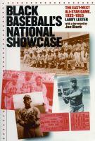 Black Baseball's National Showcase
