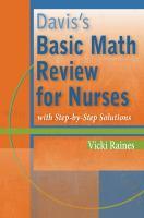 Davis's Basic Math Review for Nurses