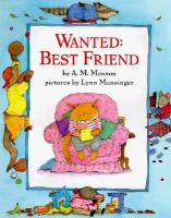 Wanted: Best Friend