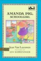 Amanda Pig, School Girl