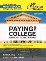 Paying for College Without Going Broke, 2014