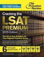 Cracking the LSAT