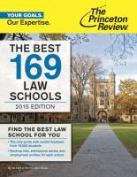 The Best 169 Law Schools