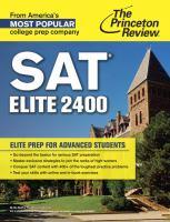 SAT Elite 2400