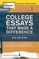 College Essays That Made A Difference