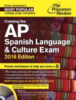 Cracking the AP Spanish Language & Culture Exam