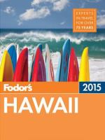 Fodor's Hawaii 2015