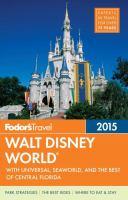 Fodor's 2015 Walt Disney World