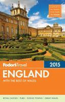 Fodor's 2015 England