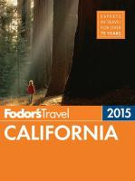 Fodor's California 2015