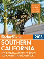 Fodor's 2015 Southern California