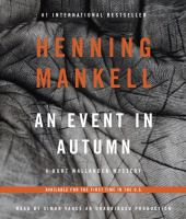An Event in Autumn