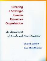 Creating A Strategic Human Resources Organization