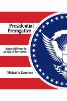 Presidential Prerogative