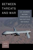 Between Threats and War