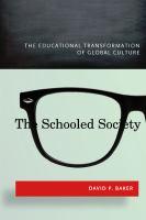 The Schooled Society