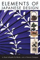 Elements of Japanese Design book cover