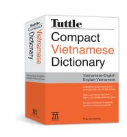 Tuttle Compact Vietnamese Dictionary