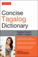 Concise Tagalog Dictionary