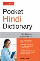 Pocket Hindi Dictionary