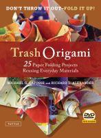 Trash Origami