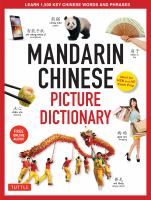 Mandarin Chinese Picture Dictionary : Learn 1000 Key Chinese Words and Phrases