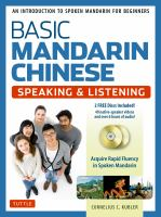 Basic Mandarin Chinese
