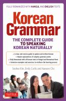 Korean Grammar