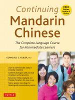 Continuing Mandarin Chinese