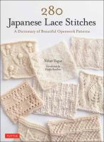 280 Japanese lace stitches : a dictionary of beautiful openwork patterns