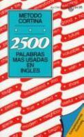 2500 Palabras Mas Usadas En Ingles