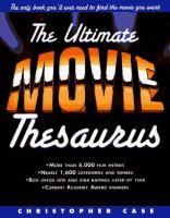 The Ultimate Movie Thesaurus