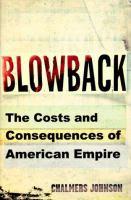 Blowback