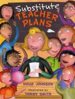Substitute Teacher Plans