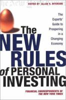 The New Rules of Personal Investing