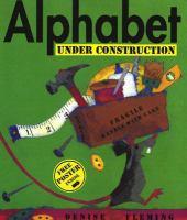 Alphabet Under Construction