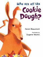 Who ate all the cookie dough book cover