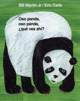 Oso panda, oso panda, qué ves ahí?
