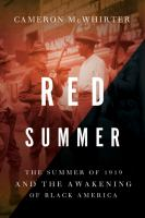 Cover of Red Summer: The Summer of