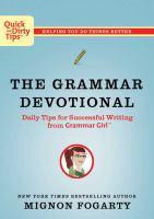 The Grammar Devotional