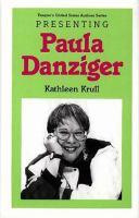 Presenting Paula Danziger
