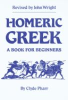 Homeric Greek