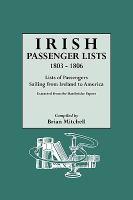 Irish Passenger Lists, 1803-1806