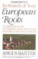 In Search of your European Roots