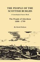 The People of Aberdeen, 1600-1799