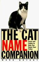 The Cat Name Companion