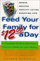 Feed your Family for $12.00 A Day