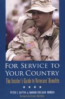 For Service to your Country