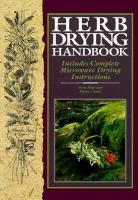 Herb Drying Handbook