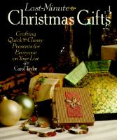 Last-minute Christmas Gifts
